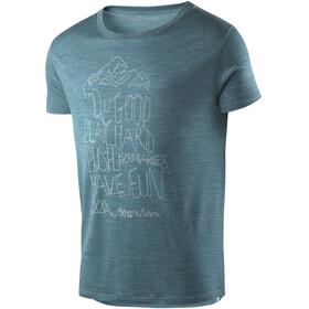 Houdini Activist Message t-shirt Heren petrol